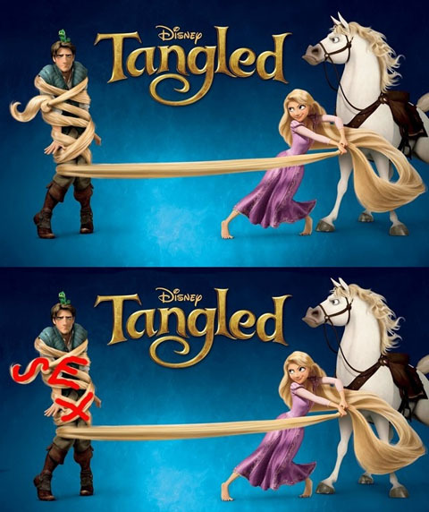 Tangled subliminal message?