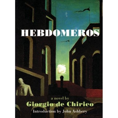 Books to remember: Hebdomeros by Giorgio de Chirico (1928):  The noises died down; the wind held its breath, the curtains which had billowed out romantically in the open windows sank back again like flags when the wind drops. Men in shirtsleeves who had been playing billiards suddenly stopped playing as though they had become immensely weary, weary of their past life and of their present life and of the years that still awaited them, with their long procession of hours, sad or sunny, or simply neutral, neither sad nor sunny, just hours!