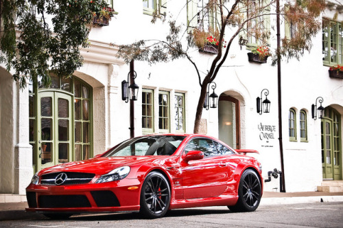 carpr0n:  Passionate lover Starring: Mercedes Benz SL65 Black Series (by Gideon Gillard)
