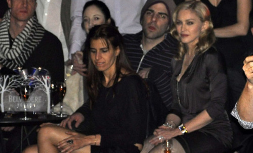 dailyzqphoto:  madonnaciccone:  M in a Berlin nightclub last night  HOLYFUCKINGSHIT ZACHARY QUINTO AND MADONNA.  TAKE OFF YOUR HAT IN FRONT OF MADONNA, ZACHARY. YEESH. That girl in the front, though. 4eva.