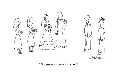 "The groom has tweeted ""I do"" infoneer-pulse:  Happy Valentine's Day (Cartoon) « The Xplanation"