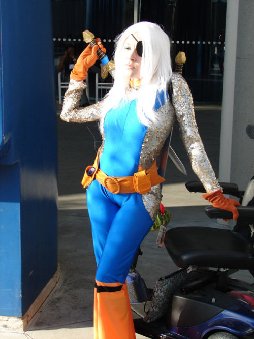 "Ravager Cosplay by Jill ""Nerdy Bird"" Pantozzi. (Source)"