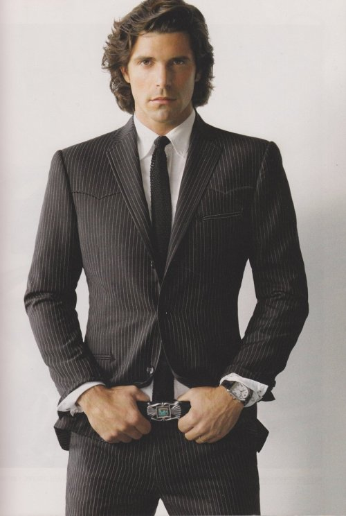 "Ignacio ""Nacho"" Figueras, Polo player (Black Watch Polo Team)"