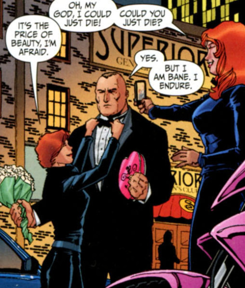 Why you should be reading Secret Six. Part One: Bane in a suit.