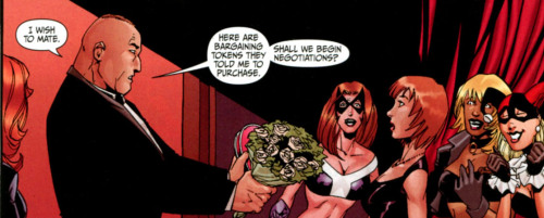 Why you should be reading Secret Six - part two: Proposing!