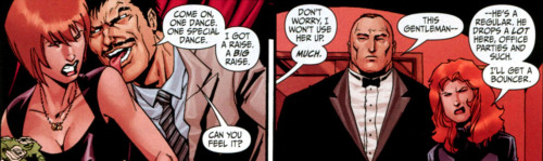 Why you should be reading Secret Six - part three: Then a man shows up, misbehaving …