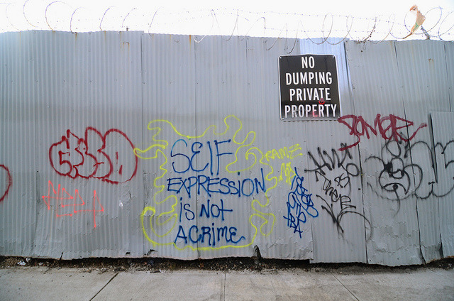 Self Expression is Not a Crime