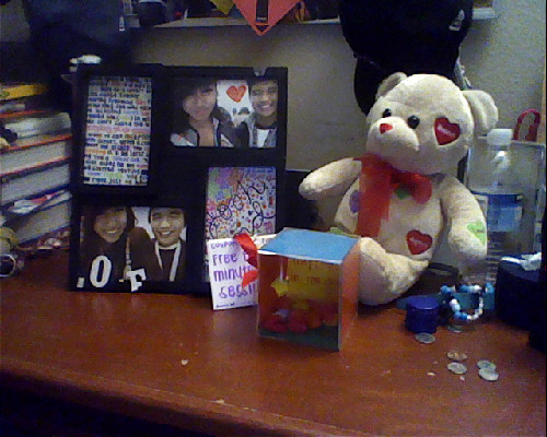 Haha my babys the best! Thankyou baby :). Happpy Valentines day!