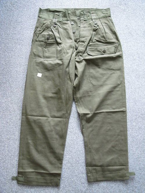 1940s UK army cargos with front pocket