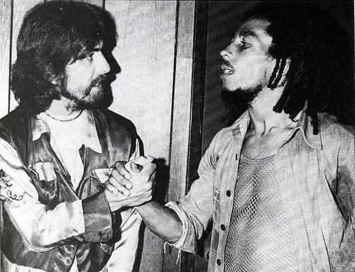 George Harrison & Bob Marly