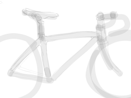 This drawing of a Bianchi Via Nirone was done in Adobe Ideas. Erin Sparling is The Director of Design Technology at The Wall Street Journal, a bike fan, and an illustration fan. He lives in Brooklyn, NYC http://www.flickr.com/photos/59663818@N00/