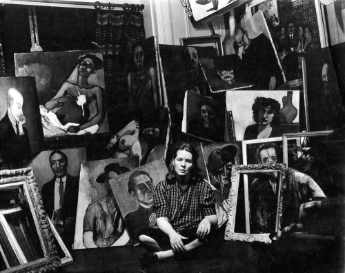 Alice Neel's Studio
