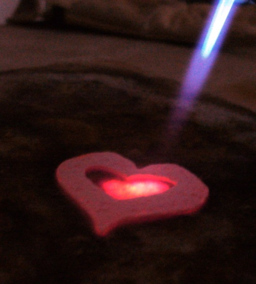 Happy Valentine's Day everyone!! Photo:  Glowing Heart    February 14, 2011    Karen Glosser