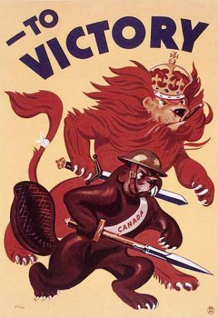 Canadian World War II Posters Gallery