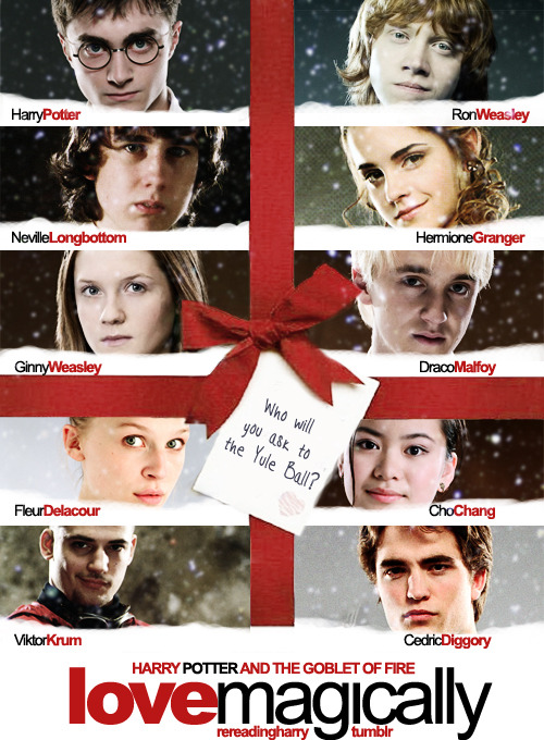 rereadingharry:  Okay, the Yule Ball & Love Actually are Christmassy, but I'm not going to wait until December to post this. Happy Valentine's Day, tumblrfolk. PS. It makes me sad that there is no gay couple in Love Actually.
