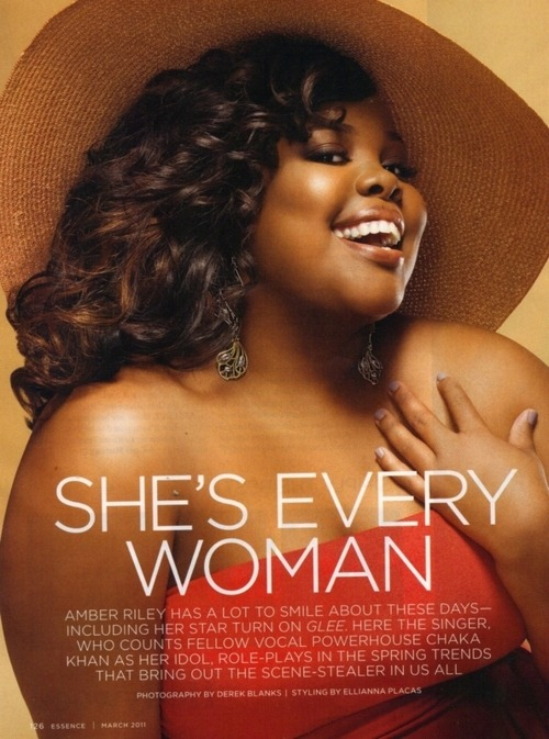 Day 33: Amber Riley
