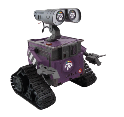 @disneypixar 's Wall-E rolls in Fuck-It gear when not on screen. He gets it.