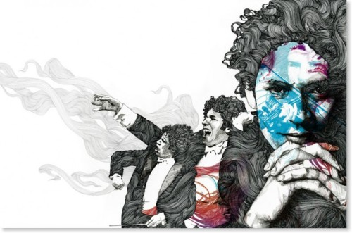 Striking Illustrations by Gabriel Moreno
