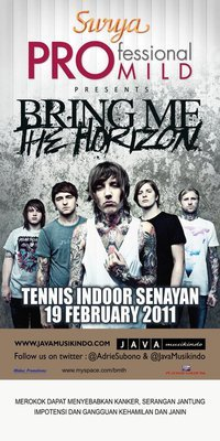 Less than one week until the show in Jakarta!
