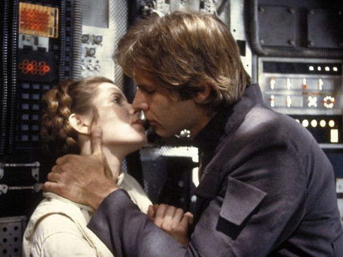 fuckyeahattractivefictionalmen:  Top Ten Fictional Couples  Number 5: Han and Leia  My number one. Happy Valentine's Day everyone! (I protest Valentine's Day on principle, but I celebrate anyway.)