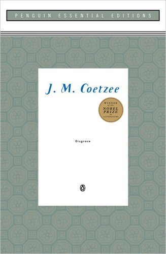 "[I've finished reading J.M. Coetzee's Disgrace, Below is my review posted at Goodreads. Spoiler Alert!] David Lurie is a South African professor of English who specializes in Romantic literature at a technical university in Cape Town in post-apartheid South Africa. At the beginning of the story, he is disgraced when he seduces one of his students and does nothing to protect himself from the consequences of his actions. Therefore, he loses everything, beginning with his job because he fails to defend himself, then his reputation followed by his peace of mind, and finally his ability to protect his own daughter.  After the affair with his student, he is brought before a group of his fellow professors for a type of ""trial"" to discuss what he should do regarding his actions. Laurie merely confesses he is guilty as charged for his actions and does not defend himself in any way; like a dog who has tucked its tail between its legs and whimpered off. Therefore, he is dismissed from his teaching position, after which he takes refuge at his daughter's farm in the Eastern Cape. For a time, his daughter's influence and natural rhythms of the farm promise to harmonize his discordant life. But shortly after becoming comfortable with rural life, he is forced to come to terms with the aftermath of an attack on the farm in which his daughter is raped by three African men and impregnated. Lurie himself is violently assaulted.  Coetzee's story is replete with irony and inter-woven and parallel relationships and circumstances. The once Romantic Idealist professor, Lurie, is now faced with a double disgrace: his own and his daughter's. His own disgrace has wounded him enough to cause him to flee to his daughter's place, but her disgrace cripples him and his ability to be a father to a daughter who has clearly acted like he is nothing but a burden, especially after she has been raped. Laurie, attempting to put his own life back together—and do the same for a raped daughter—takes a job helping Bev Shaw, the local ""vet"" in the town, put down unwanted and/or crippled animals (mainly dogs); another ironic parallel to his own existence and inability to now protect his daughter.  Coetzee's novel contains a chartable amount of inter-woven relationships that deal with various forms of love; romantic love, parental love, and base or natural love (love of nature). These types of love are communicated through Lurie and his daughter (Lucy), Lucy and her neighbor Petrus, Petrus and his two wives, Lurie and Bev, Lurie and Bryon (the classic poet whom Lurie studies), Lucy and Bev, and a love between Lucy and her dogs, as well as Lurie and a particular dog toward the end of the story which he chooses to have put down demonstrating the irony of his own life becoming useless. This novel is not only a great story, and has three dimensional characters, but is filled with strong imagery, metaphor, irony, and is rich in theme and symbol. I highly recommend it!"