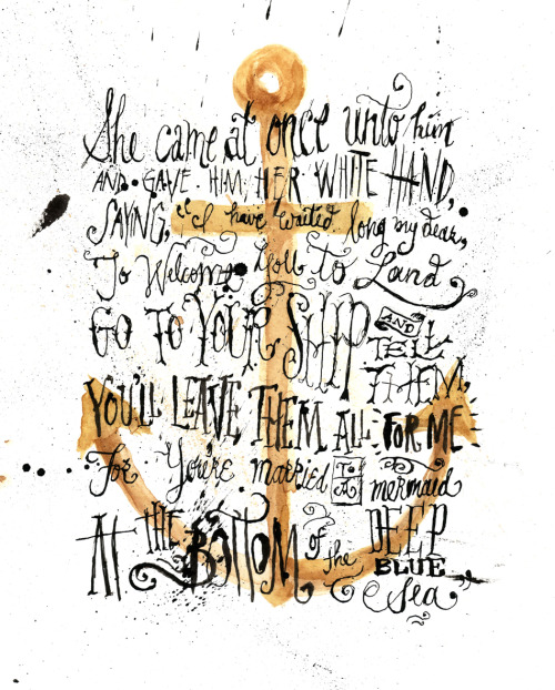 "Typeverything.com - ""Mermaid"" by Jon Contino."