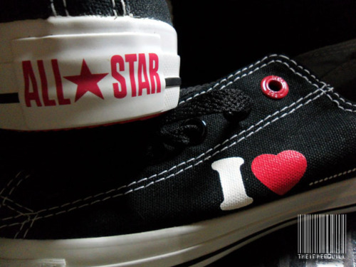 Almost time to retire my old black Chucks and start wearing these. :P