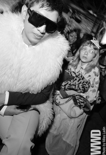 womensweardaily:  POP SHOTS by Miles Ladin: 2/15/11 Bryanboy and Tavi  BEST PICTURE OF MY LIFE.
