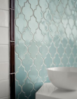 cookingloveandlife:  Quatrefoil Tile!