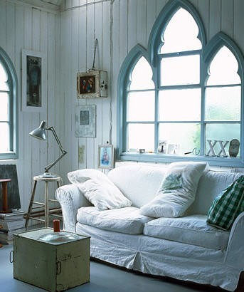 acottageinthewoods:  ~ lovely windows ~ found via Lori Anderson