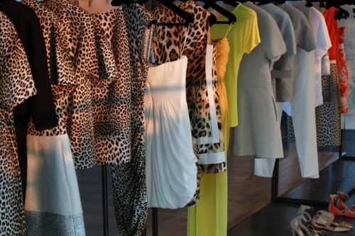 A proper visit to the Giambattista Valli Showroom: more on modelizing.