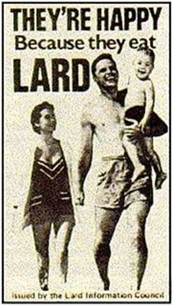 fittidbit:  This is great. Seriously though, don't eat lard.  Lol!  Loved this!!