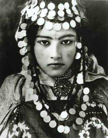 Tunisian Berber in 1910.