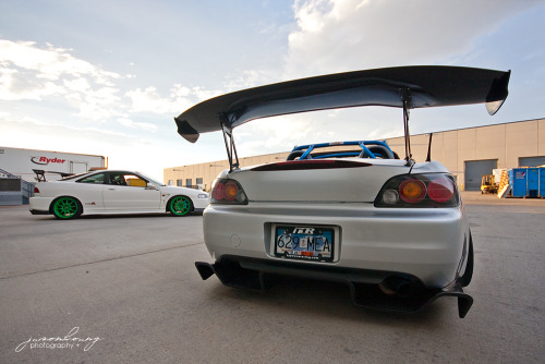 Dal and Jackie Law's K20 teg and S2000 @illmotion