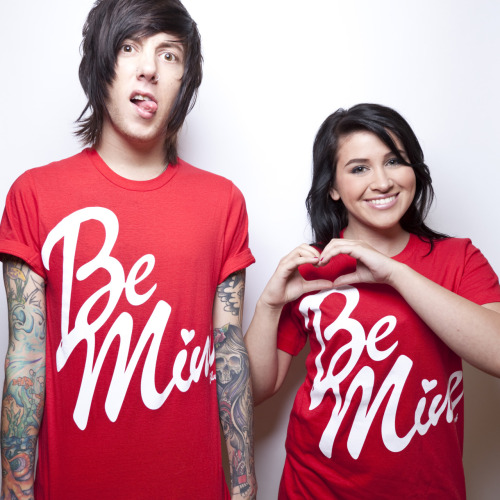 It's your last chance to get our Be Mine shirt! Looks damn cute with leggings any time of the year, so snatch one up before it's too late! I cut the collar off of mine and wore it out the other night with a black blazer. Live Fast and Die Pretty!<3 The Blush Army