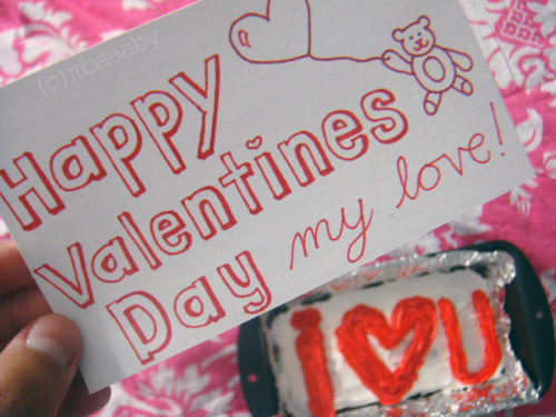 045/365: Yesterday was Valentine&