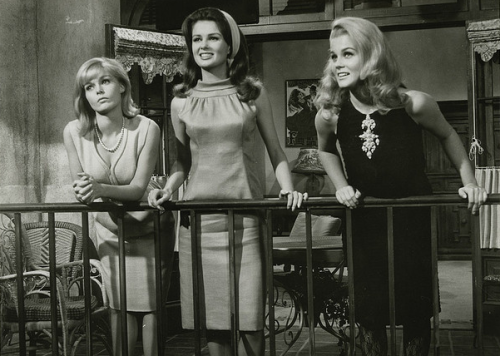 Ann-Margret, Carol Lynley, and Pamela Tiffin.The Pleasure Seekers, 1964.