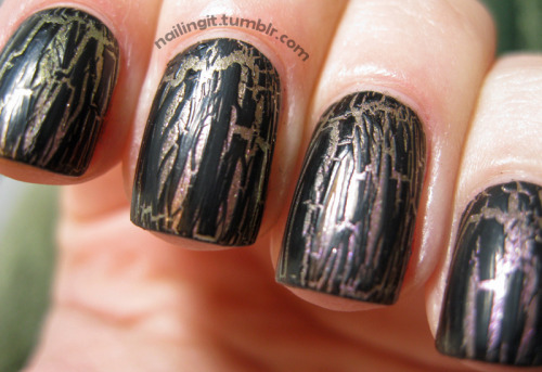 opi - not like the moviesopi - black shatter opi's black shatter has the best formula out of all the other crackle/shatter polishes i've tried. i was never intrigued by opi but i have to say they have won me over. again, thanks dayborah, you have outdone yourself!