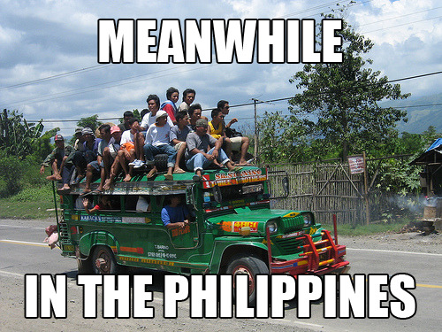meanwhile in the philippines….