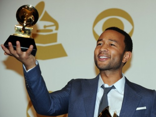 poptech:  nationaljournal:  Why will John Legend be at the White House next week?  Congratulations to PopTech board member John Legend on his three Grammy wins!    Congratulations John Legend! Voice of silk…