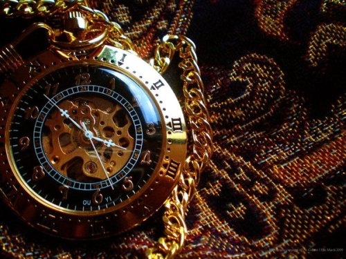 Steampunk Pocketwatchby ~purpleglovez2