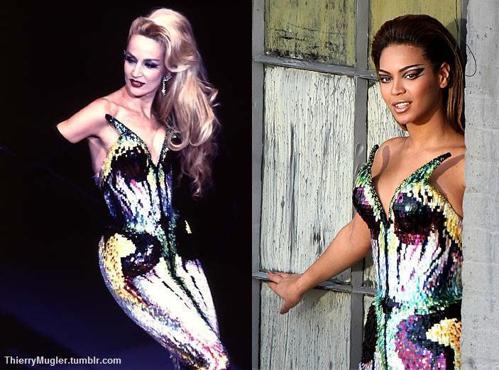 Jerry Hall vs Beyonce