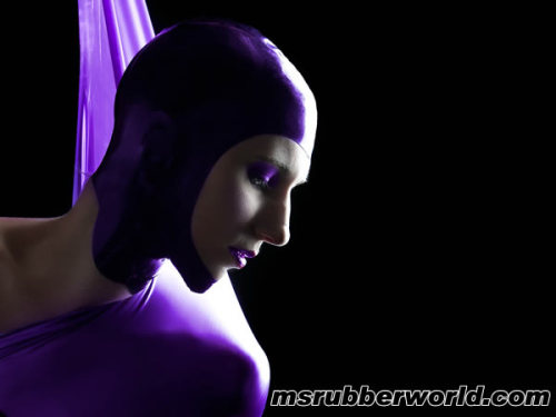 Miss Rubber World 2011 - Now online (Latex Hood by Ego Assassin Clothing)