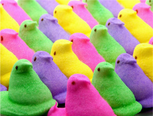 Totally not related to my blog but: WHAT DO YOU MEAN THEY DON'T CARRY PEEPS IN LONDON? HOW!?!?!?! WHY???? *sobswailsweepsbasiccalybemoanslife*