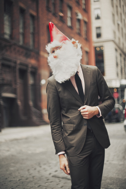 gnomebomb:  New York Fashion Week: Fix Up, Look Sharp
