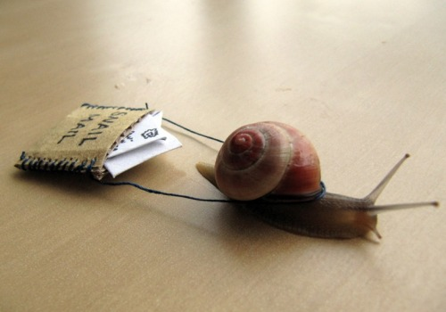 Snail mail isn't dead