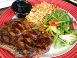 yumsinmytums:  Ribeye Steak @ TGIF