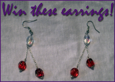 New earrings giveaway with PK Jewelry Designs!! Entering is so easy.  reblogs greatly appreciated