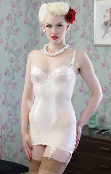 Corselette by What Katie Did