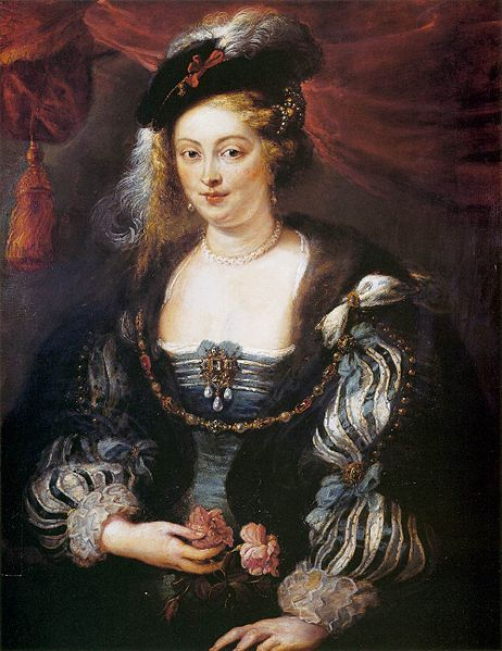 Peter Paul Rubens - Portrait of Hélène Fourment